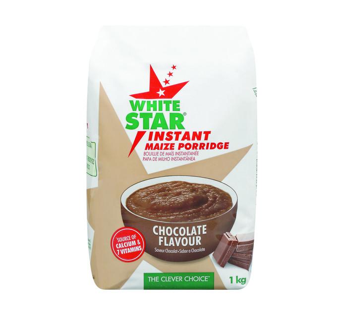 White Star Instant Maize Chocolate (1 x 1kg)