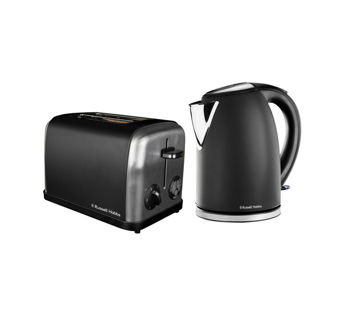 RUSSELL HOBBS MATT BLACK BREAKFAST PACK