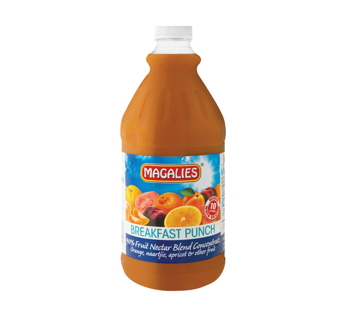 Magalies Concentrates Breakfast Punch (1 x 2L)