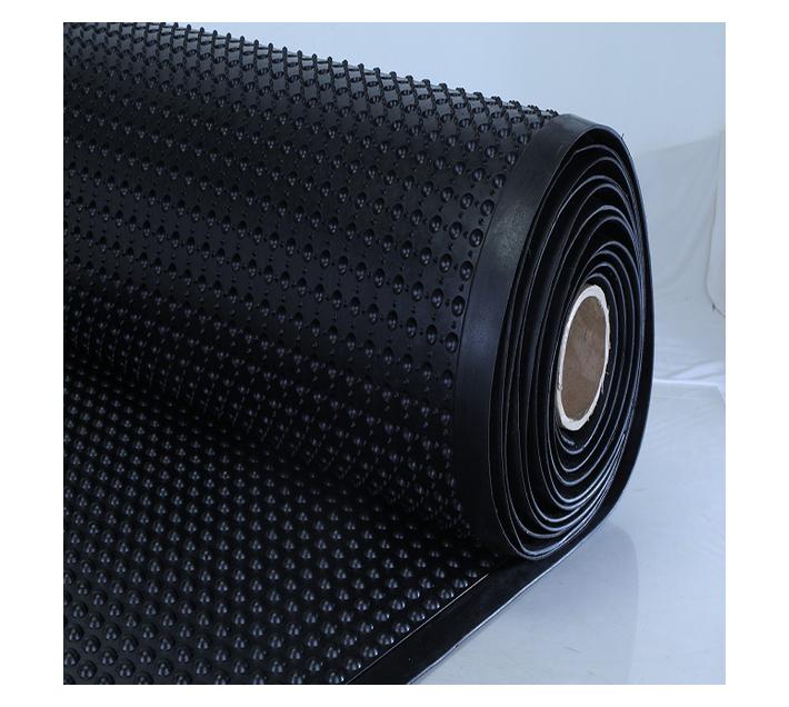 Rubber Anti-fatigue Bubble Mat Roll 9300x900 Black 15mm