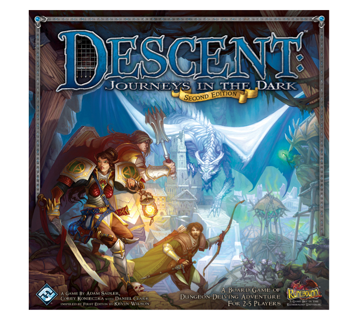 Descent Journeys in the Dark 2nd Ed