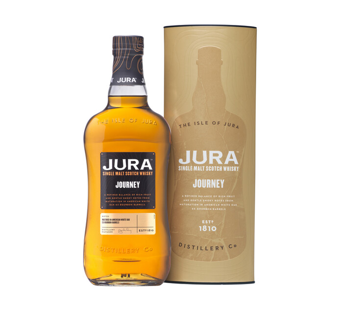 Jura Journey Single Malt Whisky (1 x 750 ml)