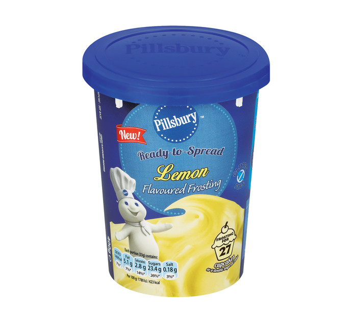 PILLSBURY Frosting Lemon (1 x 400g)