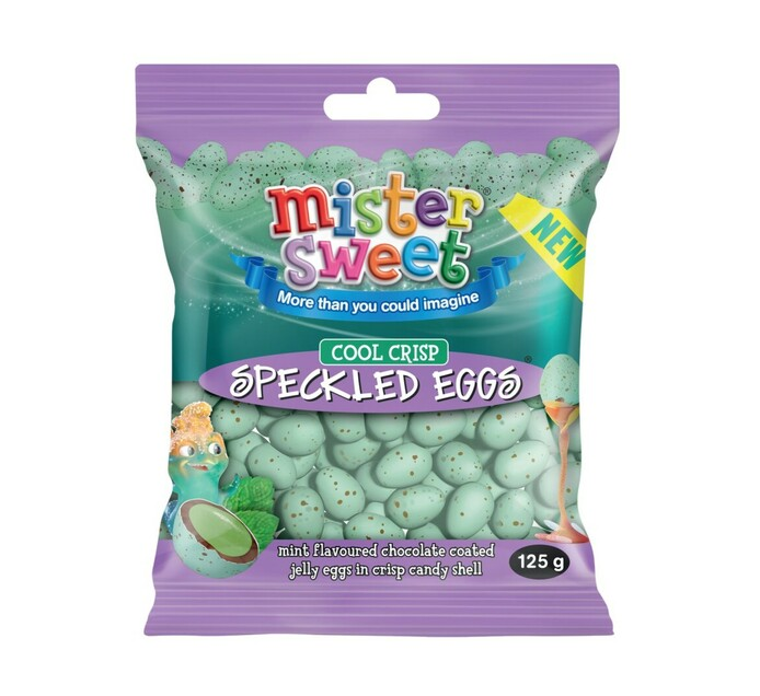 Mister Sweet Speckled Eggs Cool Crisp (1 x 125g)