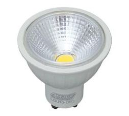 5W COB Cool White Dimmable LED Lamp (Pack of 10) - Major Tech (LG10-D5C)