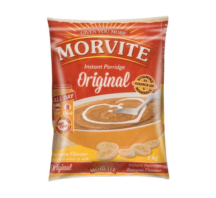 Morvite Porridge Banana (1 x 1kg)