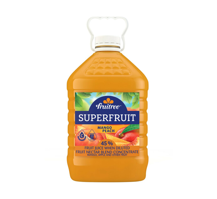 Fruitree Superfruit Mango Peach (4 x 4L)