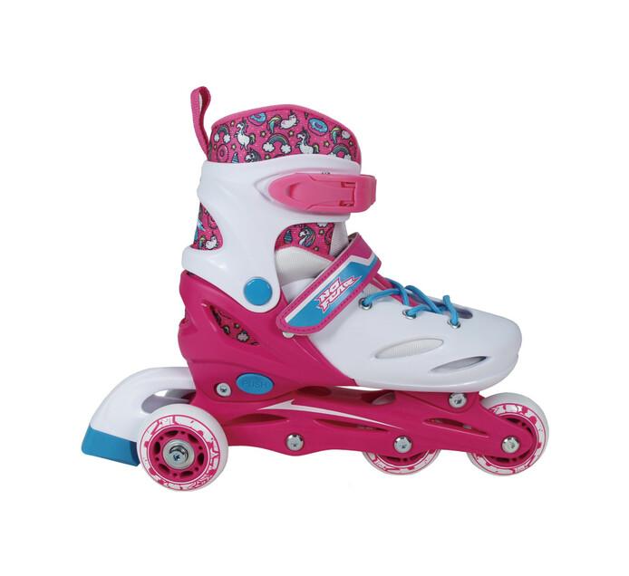 No Fear Small(UK 10-13) Girls Training Skates