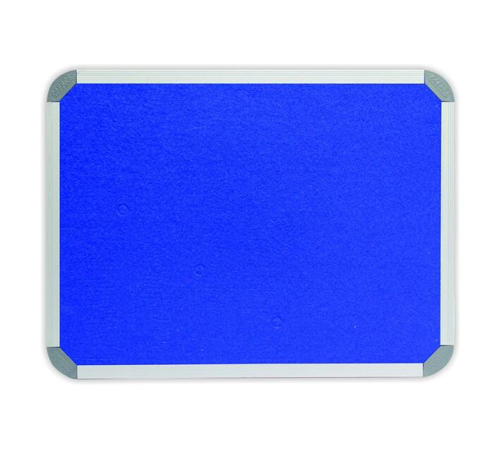 PARROT PRODUCTS Info Board (Aluminium Frame, 900*600mm, Royal Blue)