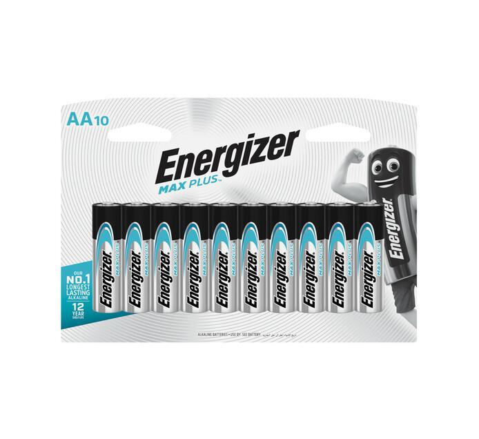 Energizer Max Plus AA Batteries 10-Pack