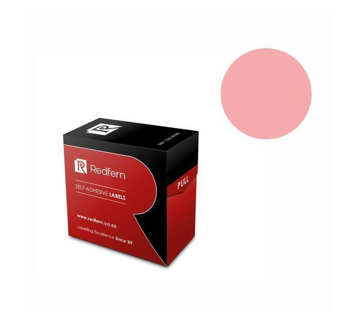 Redfern Self-Adhesive Colour Codes - C25 Pink