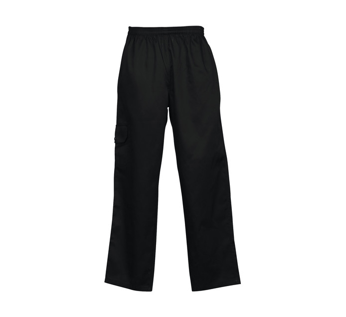 Bakers & Chefs Large Chef Pants Black