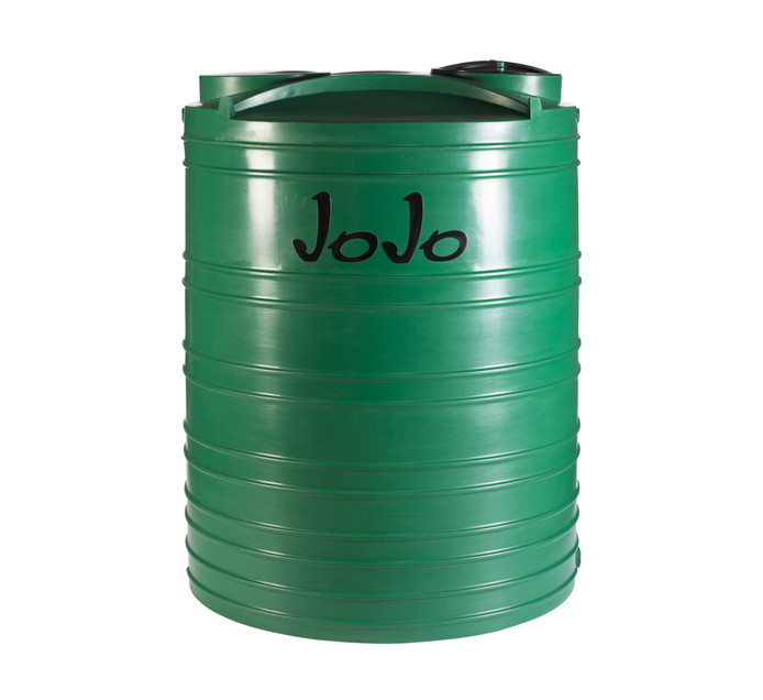JOJO TANKS 5000 Litres Vertical Water Tank Green | Water