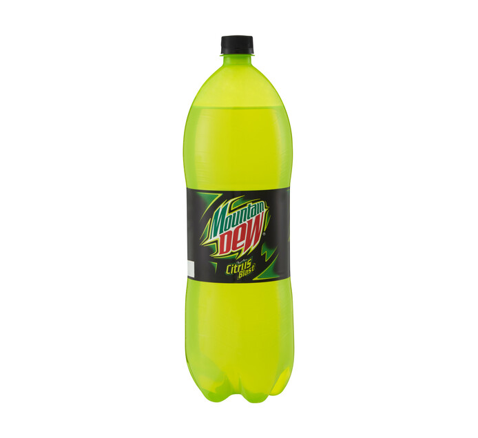 Mountain Dew Soft Drink Lemon Lime (1 x 2l)