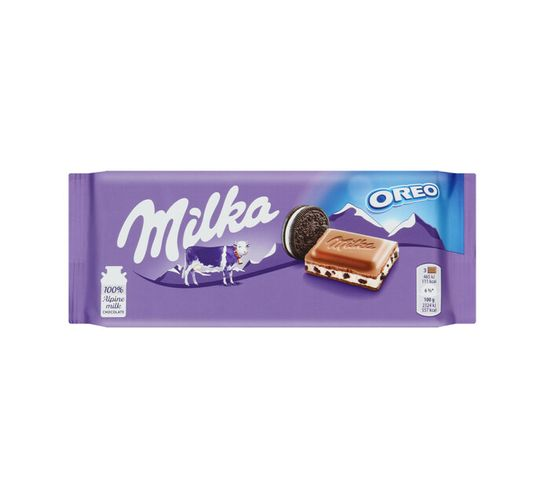 Milka Chocolate Slab Oreo (1 x 100g)