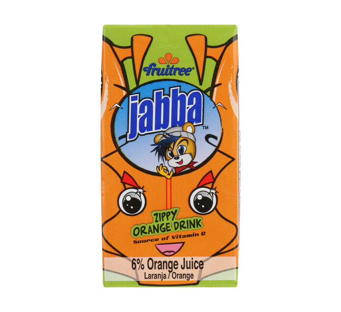 Fruitree Jabba Juice Orange (3 x 160ml)