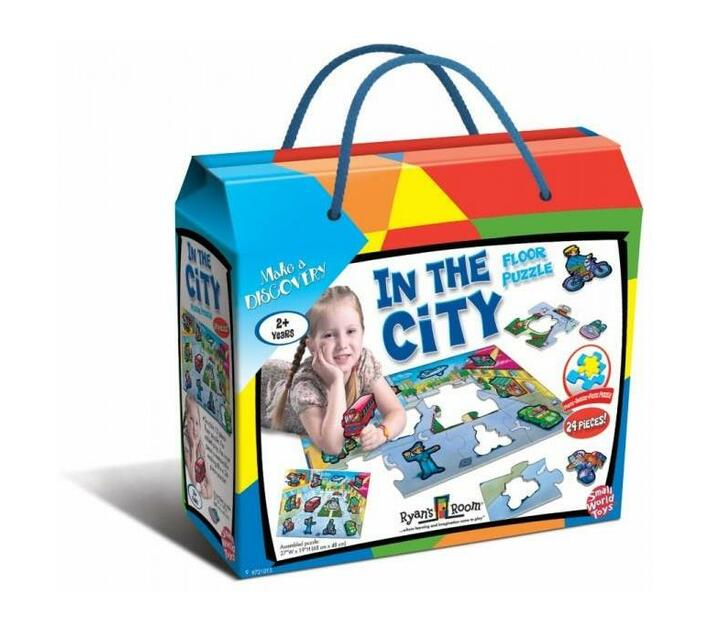 In The City Floor Puzzle