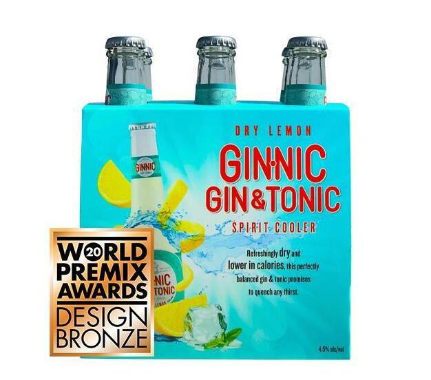 Ginnic Dry Lemon 6x275ml
