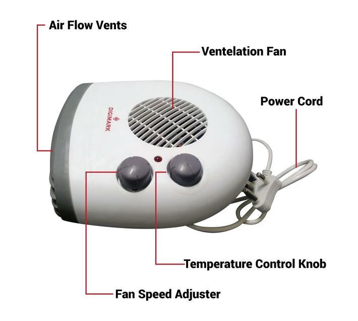 Electric Heater Digimark DGM-QHS21
