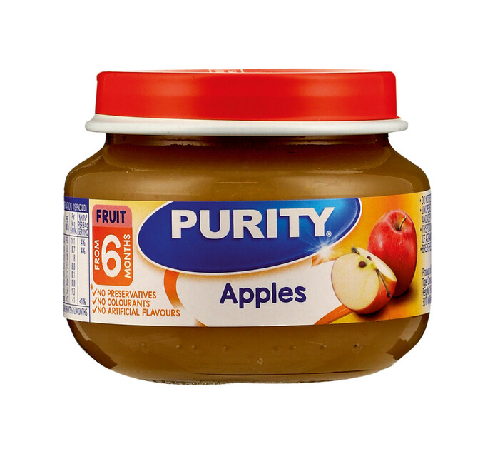 Purity Bottled 1st Foods Apples (6 x 80ml)