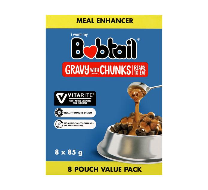 Bobtail Gravy With Chunks Multi Pack (8 x 85g)