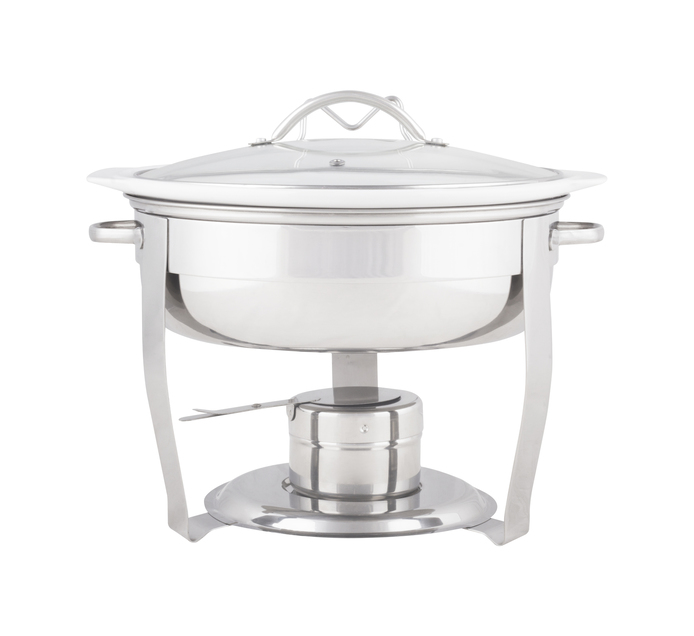 Bakers & Chefs 3.7 l Chafing Dish with Ceramic Insert