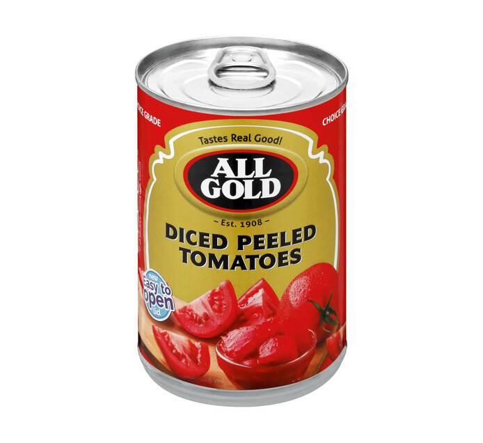 All Gold Peeled Tomatoes Chopped (12 x 410g)