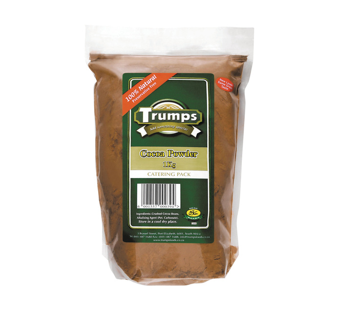 TRUMPS Cocoa Powder (1  x 1kg)