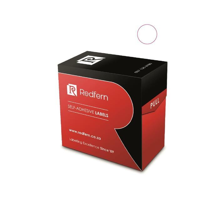 Redfern Self-Adhesive Colour Codes - C13 White
