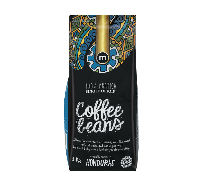 M Brand Coffee Beans Honduras (1 x 1kg)