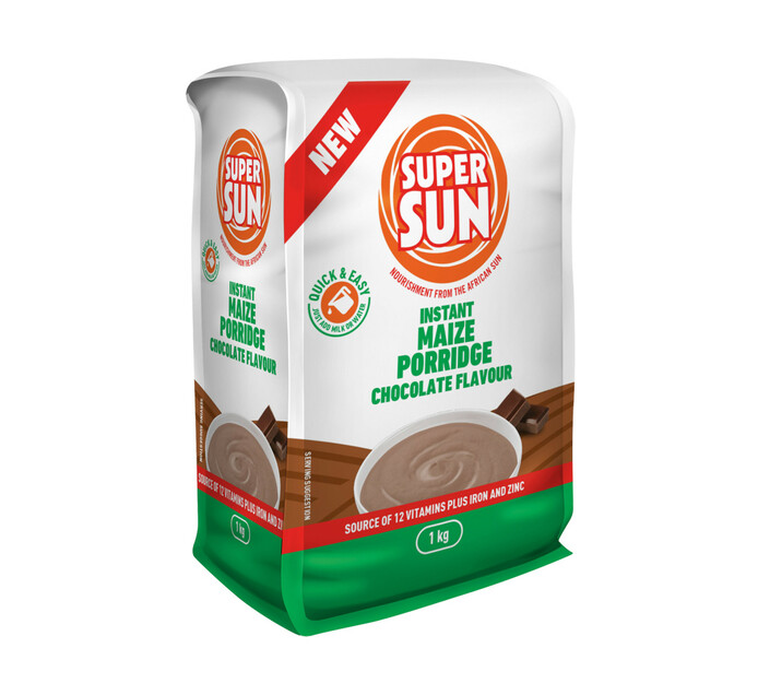 Supersun Instant Porridge Chocolate (10 x 1kg)
