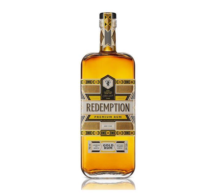 Redemption Premium African Gold Rum 750ml x 1