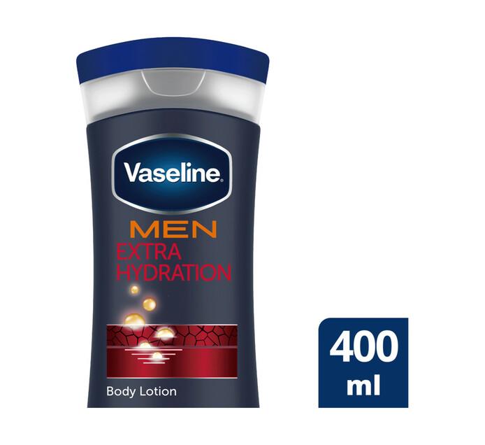 Vaseline Boby Lotion For Men Extra Strength (1 x 400ml)