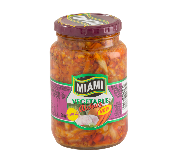 Miami Vegetable Atchaar (1 x 380g)