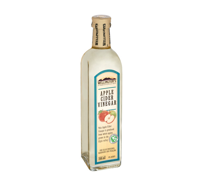 Wellingtons Apple Cider Vinegar (1 x 500ml)