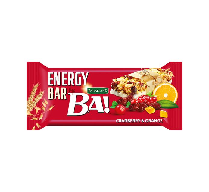 Bakalland Energy Bar Cranberry (1 x 40g)