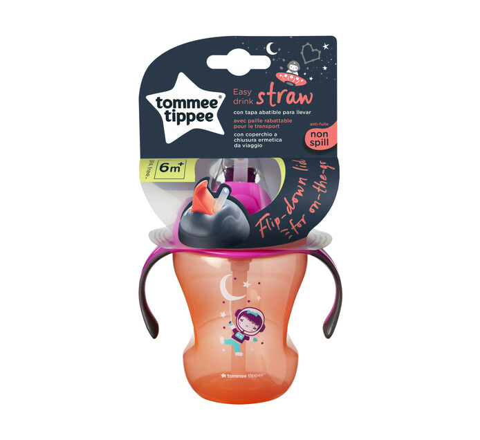 Tommee Tippee 230ml Explora Easy Drink Straw Cup