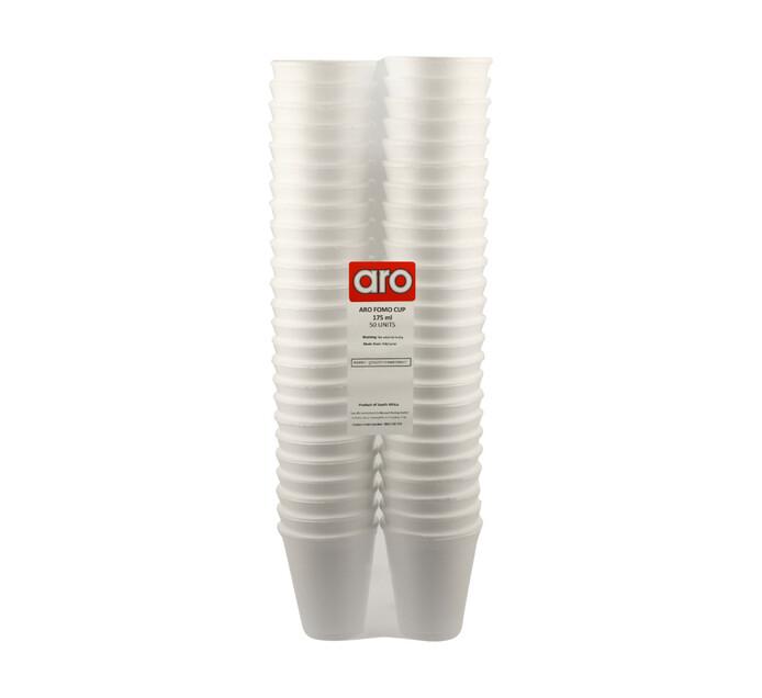 ARO Fomo Cups (1 x 175ml x 50's)