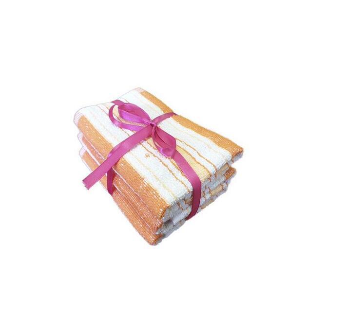 Bunty Alpine Guest Towel Orange (3Pc Pack) 30x50cms 450GSM