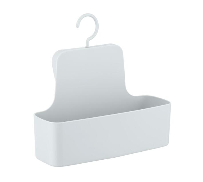 WENKO Shower Caddy - Barcelona Range - White - Unbreakable
