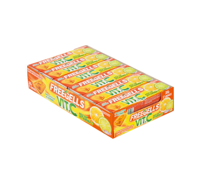 FREEGELLS Lozenges Rolls Vitamin C (1 x 12's)