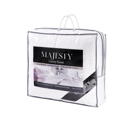 Majesty 100 Goose Feather Luxury Duvet (Size: Queen)