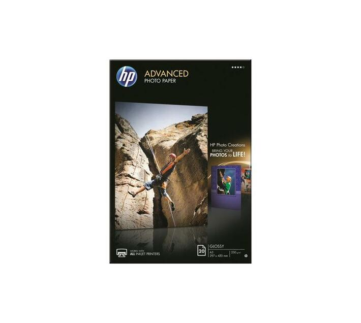 HP Advanced Photo Paper Glossy photo paper A3 (297 x 420 mm) 250