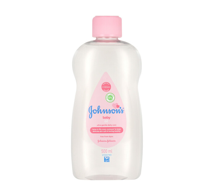Johnsons Baby Oil (1 x 500ml)