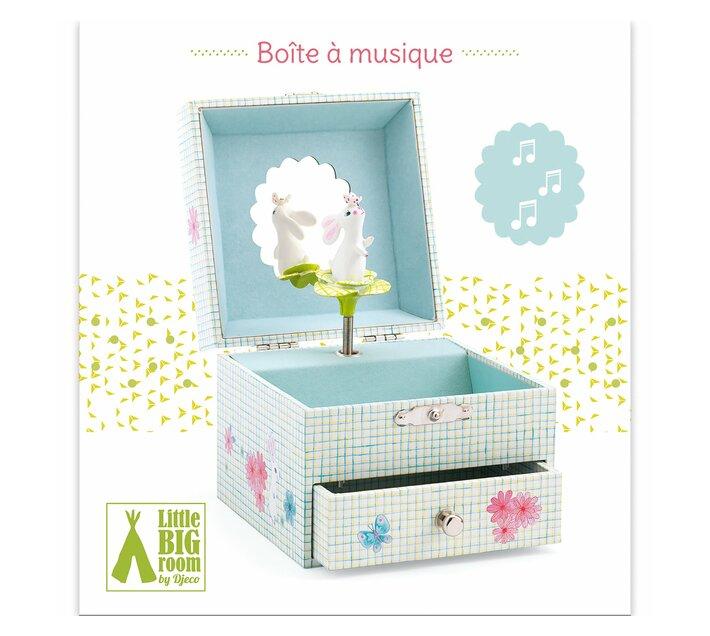 Djeco Wooden Musical Box- Sweet Rabbit's Song