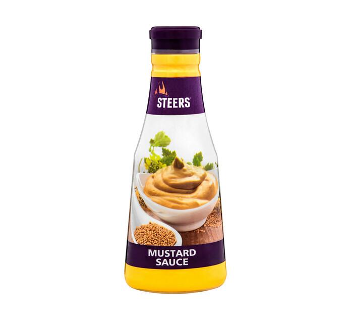 STEERS Mustard Sauce (1  x 375ml)