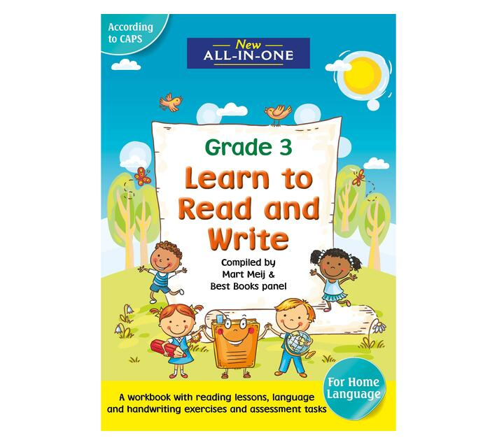 New All-In-One Learn To Read and Write Gr3