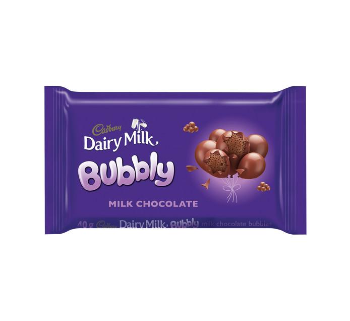 Cadbury Dairy Milk Bubbly (1 x 40g)
