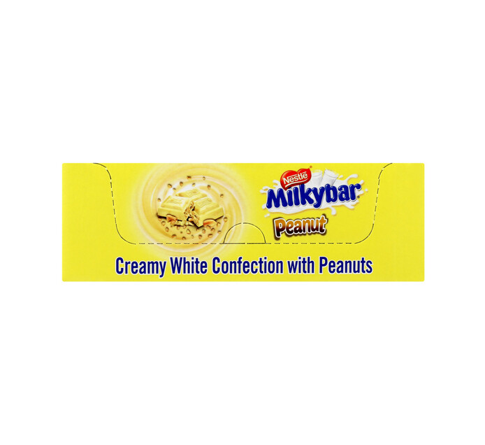 Nestle Choc Slabs Milky Bar Peanut (10 x 80g)