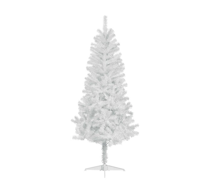 St Nicholas 180 cm Christmas Tree with Silver-Tipped Blue Needles